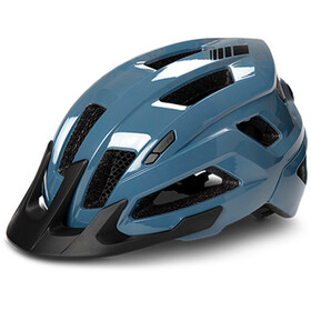 Cube Steep casco per bici blu